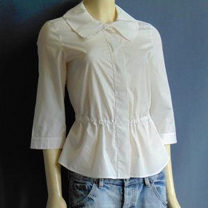 Akris Punto Drawstring Shirt Blouse 6